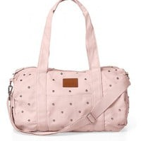 Studded Mini Duffle Bag