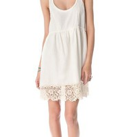 Free People Linen Babydoll Dress | SHOPBOP