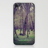 time for adventure iPhone &amp; iPod Skin by phoebe ford reid | Society6