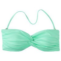 Mossimo® Women's Mix and Match Twist Bandeau Swim Top - Isle Green
