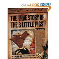 Amazon.com: The True Story of the Three Little Pigs (9780140544510): Jon Scieszka, Lane Smith: Books