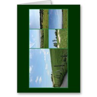 Scenic Germany: Bergisches Land Photo Collage Greeting Card from Zazzle.com