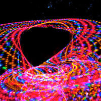 FREE SHIPPING - Strobing LED Hula Hoop - The Trance