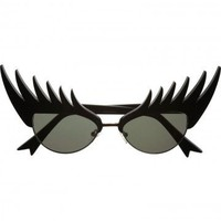 Eyelash Sunglasses - By Tatty Devine