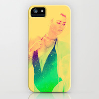 Miley iPhone & iPod Case by def29
