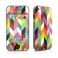 iPhone 4 Skin - Ziggy Condensed by French Bull