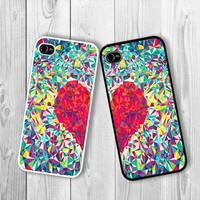 Twin Love Best Friend : Case For Iphone 4/4s ,5 /Samsung S2,3,4