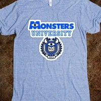 Monsters University  - Marvel Designs - Skreened T-shirts, Organic Shirts, Hoodies, Kids Tees, Baby One-Pieces and Tote Bags
