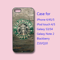 starbucks - iPhone 4 case, iPhone 5 case, ipod case , galaxy s3 case , galaxy s4 case, galaxy note 2 case, blackberry Z10, blackberry Q10