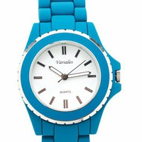 metallic trim watch &amp;#36;23.00 in DKTURQ - Watches | GoJane.com
