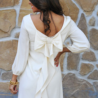 RESTOCK: I Love You So Dress: Off White | Hope's