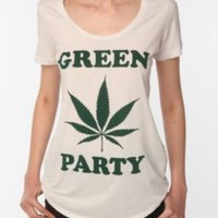 UrbanOutfitters.com > Truly Madly Deeply Green Party Tee