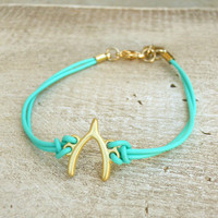 Wishbone Bracelet [3993] - $9.00 : Vintage Inspired Clothing & Affordable Summer Frocks, deloom | Modern. Vintage. Crafted.