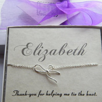 Bridesmaid Necklace Set Of 3 , Bridesmaids Gift , Wedding Party Gift, Thank-You Gift