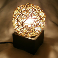 Rattan Ball Blind Lantern Oriental Style Furniture at Home and Living