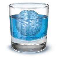 ThinkGeek :: Brain Freeze Ice Cube Molds