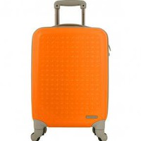 "Flight 001 | 19"" JELLY BEAN TROLLEY ORANGE - Luggage - Shop For Your Trip"