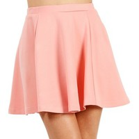 SALE-Blush Skater Skirt