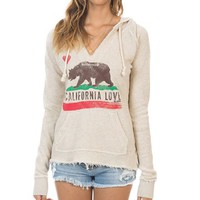 Billabong Follow Love Hoodie - Oatmeal Heather - J604VFOL				 | 