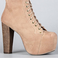 The Lita Shoe in Taupe : Jeffrey Campbell : Karmaloop.com - Global Concrete Culture