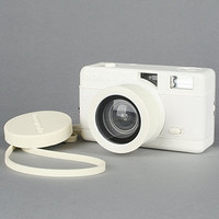 Lomography Camera Fisheye Compact Camera in White