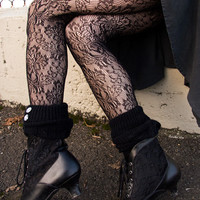 Socks By Sock Dreams  » Socks » Baroque Lace Pantyhose