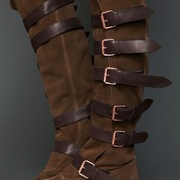 Free People Titan Buckle Boot
