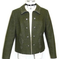 WOOL Women German Hunting Short Winter Suit JACKET 12 M
