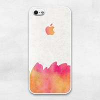 iPhone 5 case - Passion flower color  : Gradation, Watercolor - iPhone 5 Case, Cases for iPhone 5, Hard iPhone 5 Case