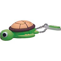 Emtec Animal Collection 4GB USB 2.0 USB Flash Drive (Turtle)