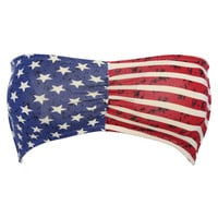 Flag Printed Bandeau | Shop Accessories at Wet Seal