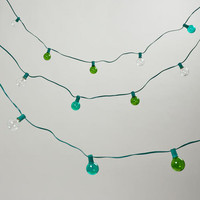 Seaside-Colored Bulb String Lights