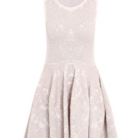 Barnacle jacquard knitted dress | Alexander McQueen | Matchesf...