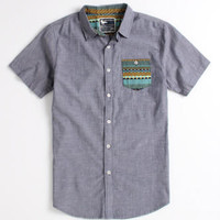 Modern Amusement Export Short Sleeve Woven Shirt at PacSun.com