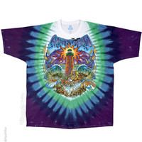 Grateful Dead - Watch Tower Tie Dye T Shirt on Sale for $25.95 at HippieShop.com