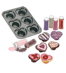 Heart Cupcake Pan 