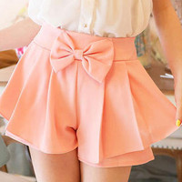 YESSTYLE: Tokyo Fashion- Bow-Accent Skort - Free International Shipping on orders over $150