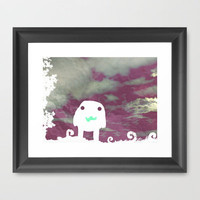 In A Dream Framed Art Print by Ben Geiger
