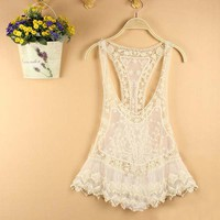 Nice Lace Vest overall