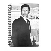 Mad Men 2013 / 2014 Daily Planner / Calendar UpCycled Agenda Jon Hamm Don Draper