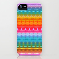 Rainbow Mix #3 iPhone & iPod Case by Ornaart