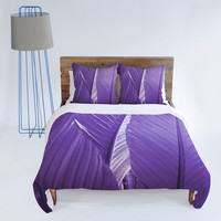 DENY Designs Home Accessories | Rosie Brown Purple Palms Duvet Cover