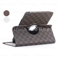 Protective Grid Style PU Leather Case for Samsung Galaxy Tab P7510   Shopsearches.com