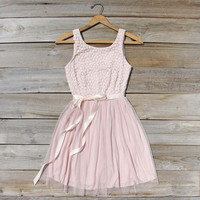 Fabled Rose Lace Dress, Sweet Women's Affordable Clothing