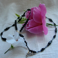 Black Lanyard by PattysDreamDesigns on Etsy