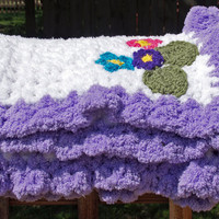 Aolani Baby Blanket by staceyLynnCreates on Etsy