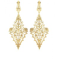 mytheresa.com -  IAM by Ileana Makri - CHANTILLY PENDANT EARRINGS  - Luxury Fashion for Women / Designer clothing, shoes, bags