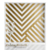 Chevron Tray And Coasters | Outdoor | Z Gallerie