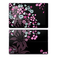 Microsoft Surface RT Skin - Dark Flowers by Kate Knight