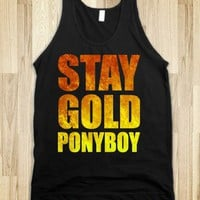 Stay Gold - Films and Such - Skreened T-shirts, Organic Shirts, Hoodies, Kids Tees, Baby One-Pieces and Tote Bags